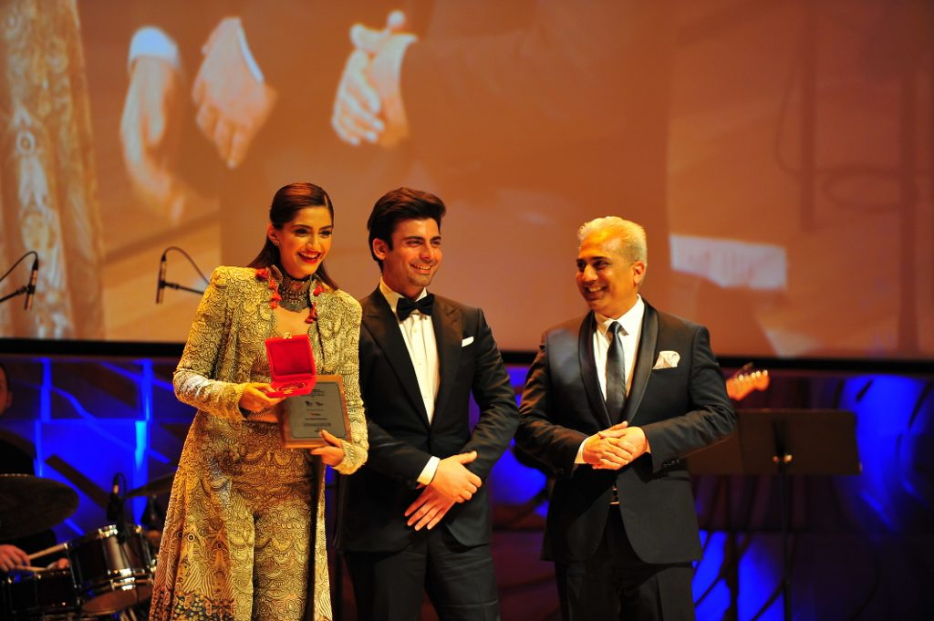 Sonam after wininng best actress award for Neerja