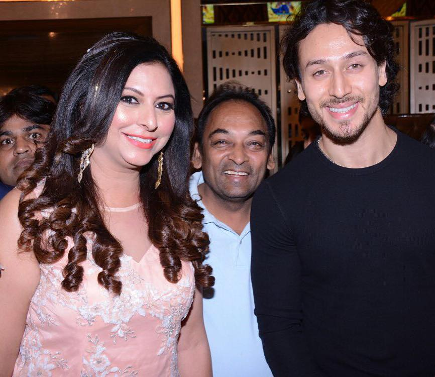 1. Gurpreet Kaur Chadha with Tiger Shroff