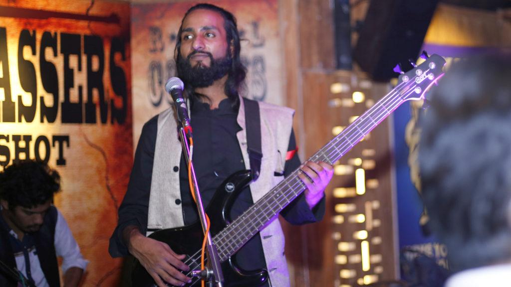 11. Ashim Kemson performing