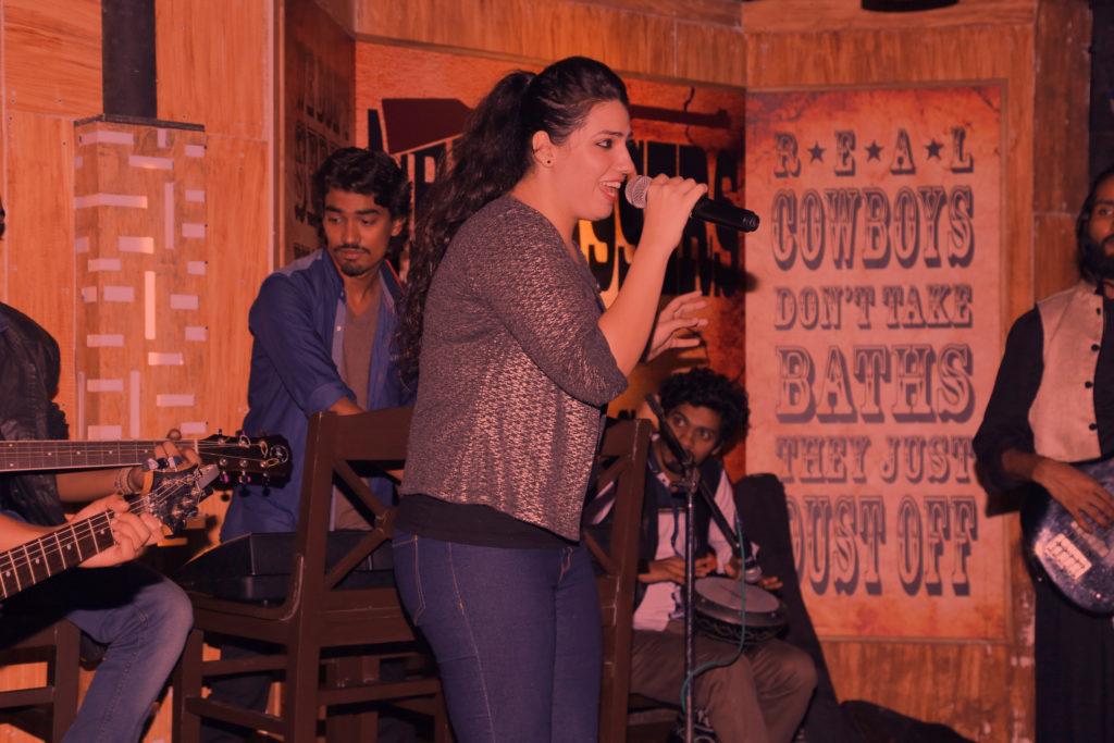 13. Swati Marwal performing