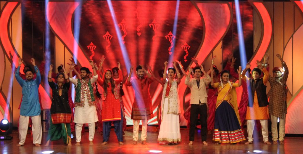 Top 10 contestants at the grand finale of Benadryl BIG Golden Voice Rupali